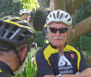 Phil discusses ride with George
