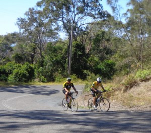 Mark and Dave attack Hill 2